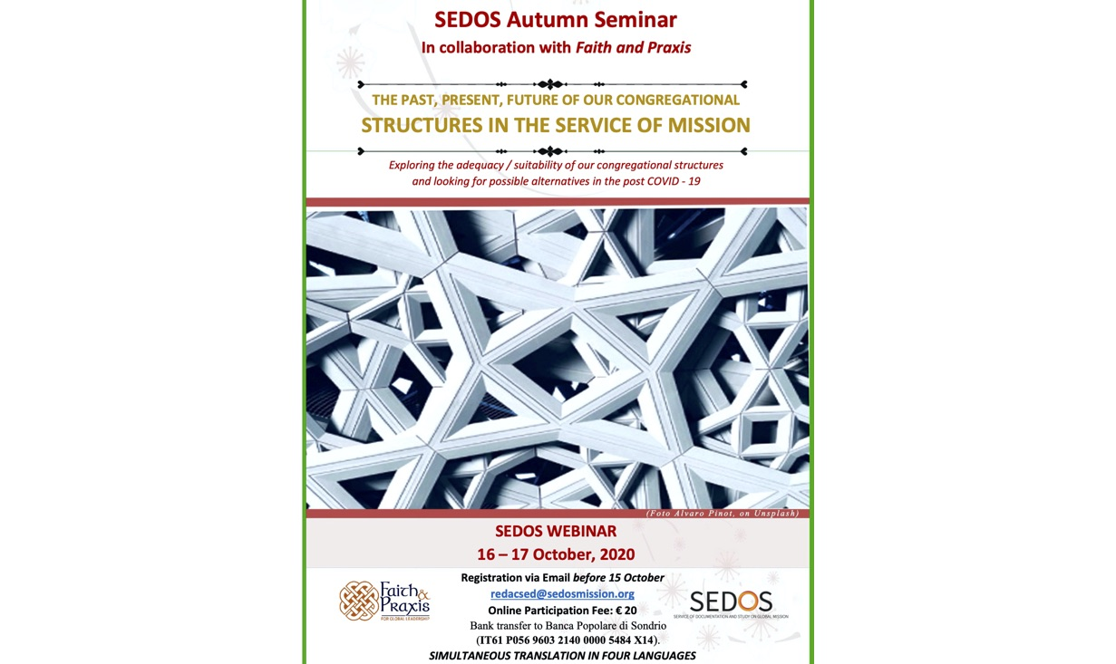 Participation in the SEDOS Autumn Seminar