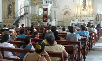 Feast of S. George in Cuba